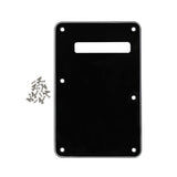 FLEOR Left Hand Strat Guitar Back Plate Tremolo Cover Scratch Plate with Screws,7 Colors Available - iknmusic