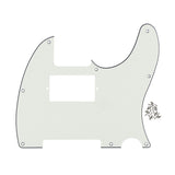 FLEOR Standard Humbucker Tele Pickguard Electric Guitar Pick Guard Scratch Plate with Screws - iknmusic