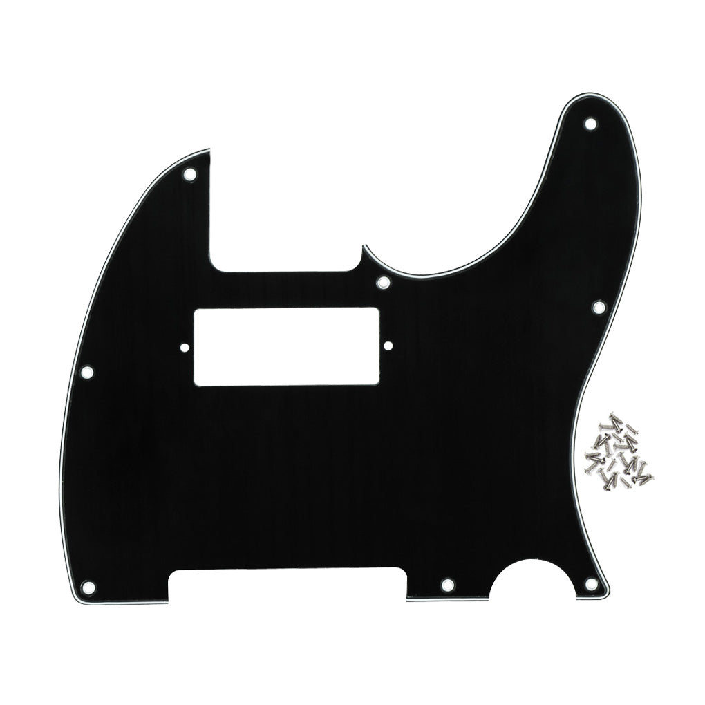 FLEOR Mini Humbucker Pickguard Tele Guitar Pick Guard Scratch Plate with Screws - iknmusic