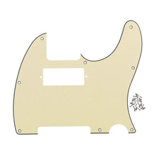 Load image into Gallery viewer, FLEOR Mini Humbucker Pickguard Tele Guitar Pick Guard Scratch Plate with Screws - iknmusic