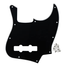 Load image into Gallery viewer, FLEOR Jazz Bass Pickguard 4 Strings & Screws | iknmusic