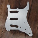 FLEOR Aluminum Metal Pickguard SSS Electric Guitar Scratch Plate & Screws for Strat Style Guitar - iknmusic