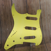 Load image into Gallery viewer, FLEOR Aluminum Metal Electric Guitar Pickguard Strat SSS | iknmusic