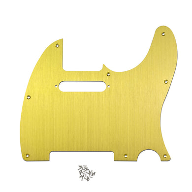 FLEOR Aluminum Metal Electric Guitar Pickguard for Tele | iknmusic