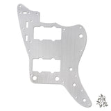 FLEOR Aluminum Metal Vintage Jazzmaster Style Guitar Pickguard Scratch Plate & Screws for Electric Guitar Parts - iknmusic
