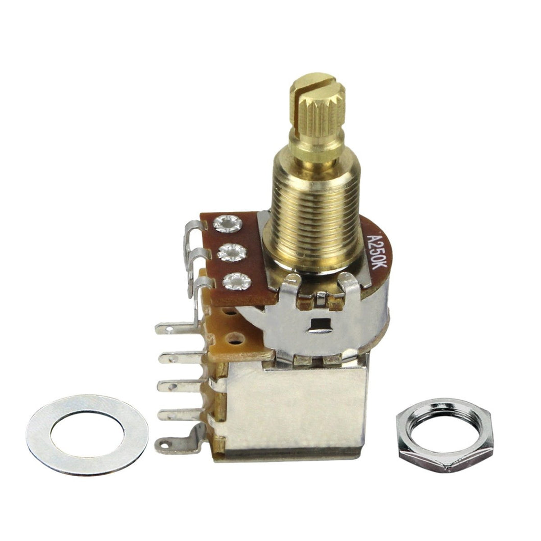 FLEOR Guitar Push-Push Potentiometer Switch Long Shaft | iknmusic