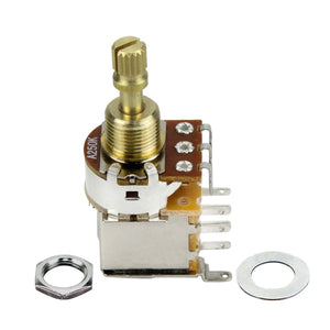 FLEOR Push Push Potentiometer Guitar Pot Short Shaft -A250K / B250K /A500K/B500K Available - iknmusic