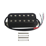 Oripure Alnico 5 Double Coil Humbucker Pickup Electric Guitar Pickup Bridge 14K - iknmusic