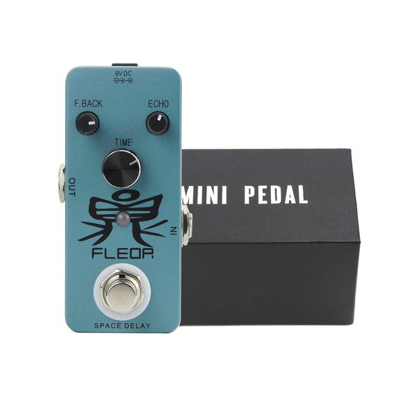 FLEOR Mini Guitar Pedal Delay Effect Pedal True Bypass Guitar Accessories - iknmusic
