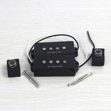 Load image into Gallery viewer, Oripure Alnico 5 Bass Pickup Set Noiseless Black For 4 String Precision PB Bass - iknmusic