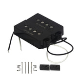 Oripure Alnico 5 Bass Pickup Set Noiseless Black For 4 String Precision PB Bass - iknmusic