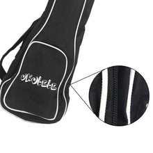 "Load image into Gallery viewer, FLEOR 21''/23''/26""Ukulele Bag Mini Guitar Gig Bag Single Shoulder Oxford Cloth Bag Black - iknmusic"