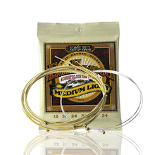 Load image into Gallery viewer, Ernie Ball Earthwood Acoustic Guitar Strings Set 80/20 Bronze Alloy PO2003/PO2004 - iknmusic