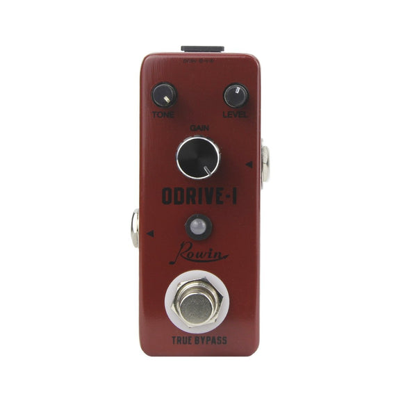 Rowin Mini Overdrive Pedal Guitar Effect True Bypass LEF-302A