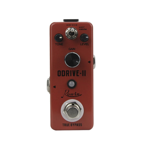Rowin Mini Overdrive Pedal Guitar Effect LEF-302B ODRIVE-II