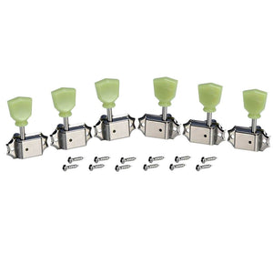 FLEOR 3L3R Deluxe Guitar Tuning Machine Heads Tuning Pegs Keys for LP Guitar - iknmusic