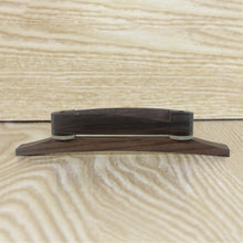 Load image into Gallery viewer, NEW Rosewood Bridge Jazz Bridge for Archtop Jazz Guitar Parts - iknmusic