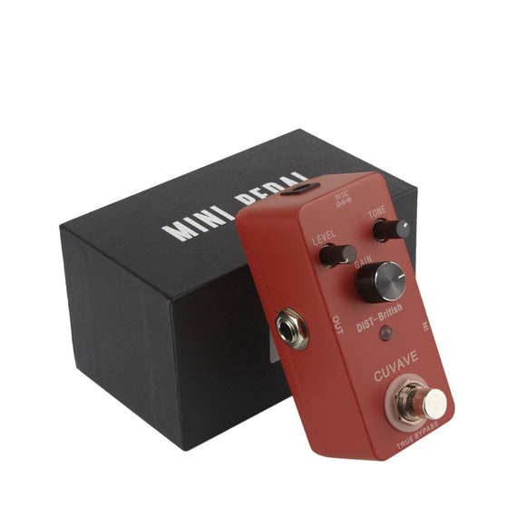 CUVAVE Mini Classic British Distortion Effect Pedal DIST-British - iknmusic