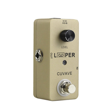 CUVAVE Mini Looper Electric Guitar Effect Pedal with USB Cable - iknmusic