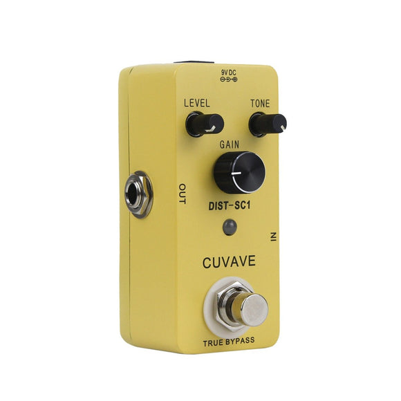 CUVAVE Mini Classic Distortion Effect Pedal Distortion-SC1 - iknmusic