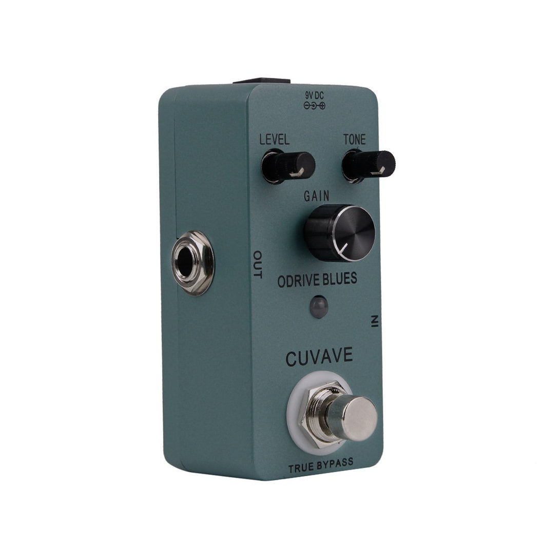 CUVAVE Overdrive BLUES Effect Pedal Mini Overdrive Effect - iknmusic
