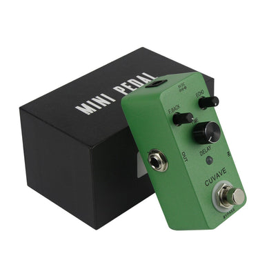 CUVAVE Mini Effect Pedal Classic Delay Guitar Effect - iknmusic