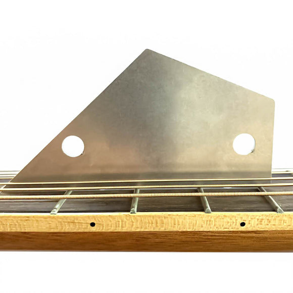 FLEOR Stainless Steel Guitar Fret Leveling Rocker Ruler