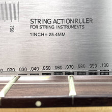 Load image into Gallery viewer, FLEOR Stainless Steel String Action Gauge Ruler | iknmusic