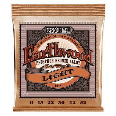 Ernie Ball Earthwood Phosphor Bronze Acoustic Guitar Strings | iknmusic