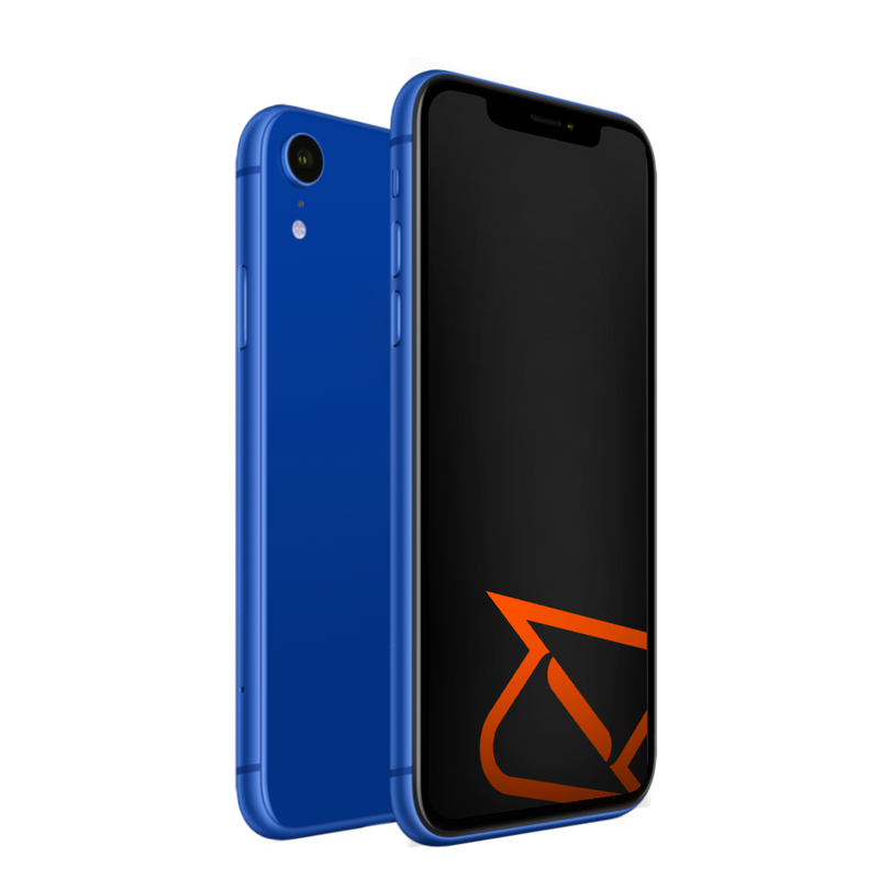 iPhone XR Blue Boost Mobile Refurbished Phone