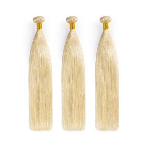 3 Bundle Deals 613 Blonde Straight Unprocessed Raw Virgin Human Hair