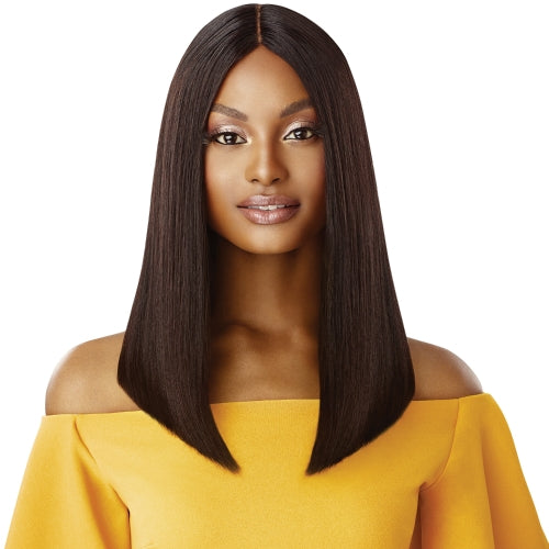 Unprocessed Human Hair Wig the Daily Lace Part Wig Blunt Cut Bob 16""