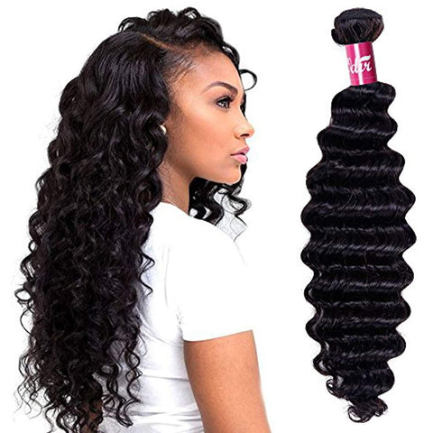 HAIRExecutive Kinky Straight 100% Raw Virgin Human Hair Natural Black