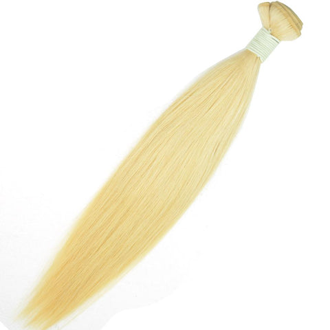 HAIRExecutive Straight Brazilian 100% Raw Virgin Human Hair 613 Blonde