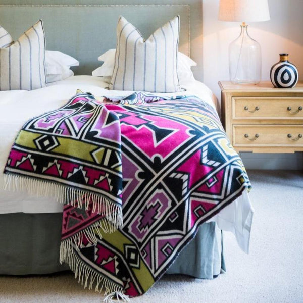 ndebele, geometric, throw, my africa, ndebele geometric