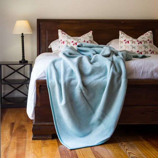 Cotton Suede Bed Blankets