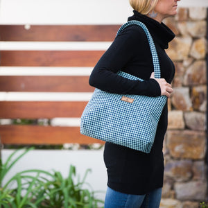 Houndstooth Handbag
