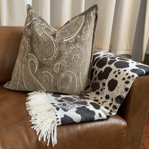 Nguni cow hide throw