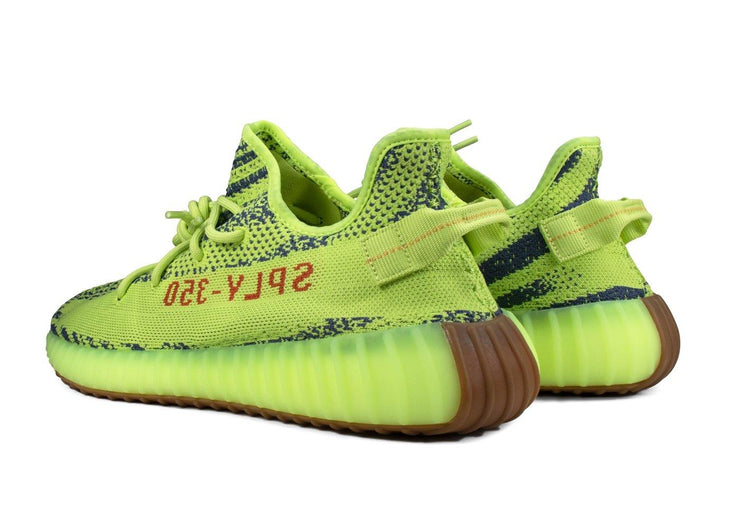 "adidas yeezy boost 350 ""Semi Frozen Yellow"""