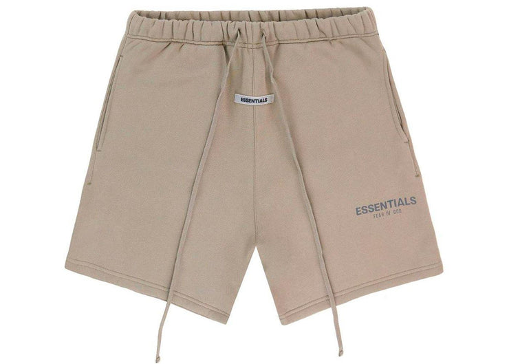 FEAR OF GOD ESSENTIALS Sweat Shorts Taupe