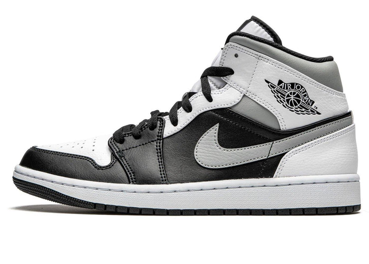 Nike Air Jordan 1 Mid White Shadow GS