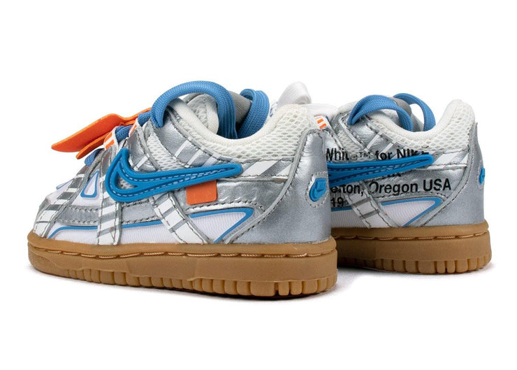 Nike Air Rubber Dunk Off-White University Blue (TD)