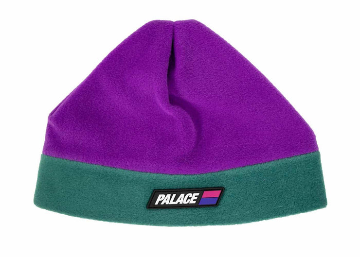Palace Fleeced Purple/Green Beanie