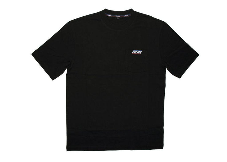 palace pocket tee black