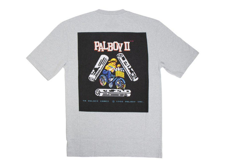 palace PALBOY T-Shirt Grey Marl