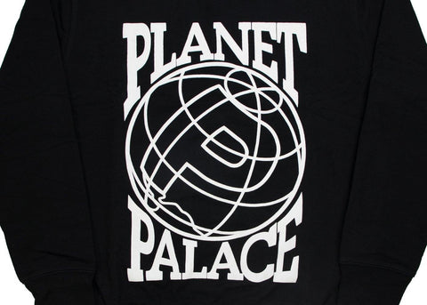 Palace Planet Crewneck Black