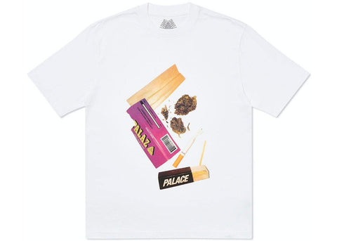 Palace Skin Up Monsieur T-Shirt White