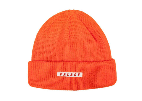 palace orange beanie