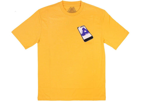 Palace Tri-Phone T-Shirt Yellow