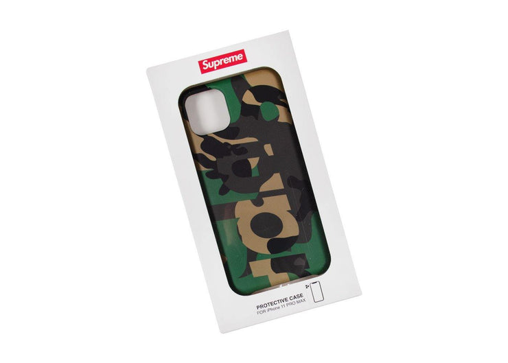 Supreme iPhone Case Camo